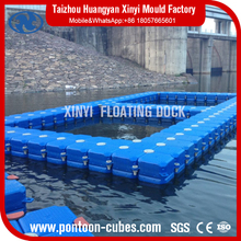 High quality HDPE floating net fish cages for aquaculture