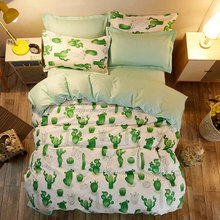 China factory supplied cheap polyester bedding set with nice allover printing