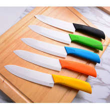 Yangjiang Injected handle ceramic knife with polished blade dishwasher safe