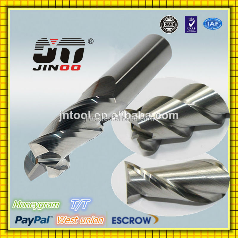 JINOO 2 flute 2dx6x2Dx50 hrc45 tungsten solid carbide machine tools for sale