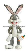 Stuffed plush rabbit toy Bugs Bunny