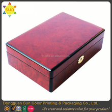 wooden veneer box/wood watch boxes and cases/wooden box for wine bottles
