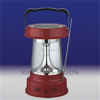 outdoor power bank battery operated LED solar rechargeable lantern solar powered lantern price