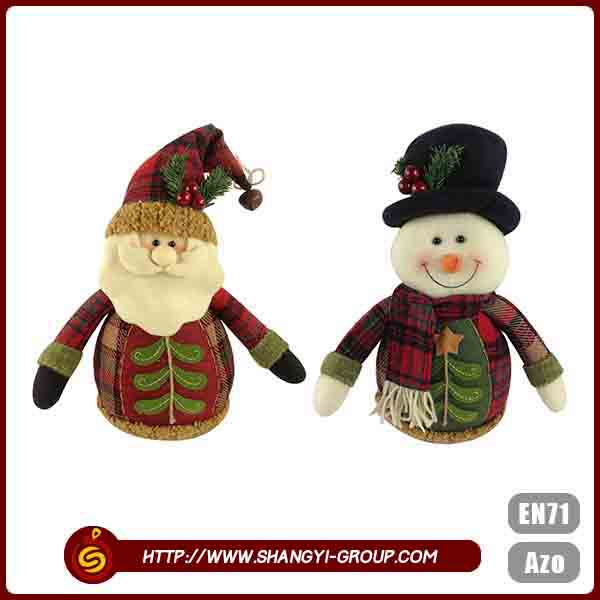 Polyester felt lovely shape custom colors christmas ornaments wholesale