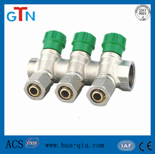brass gas manifold with high quality