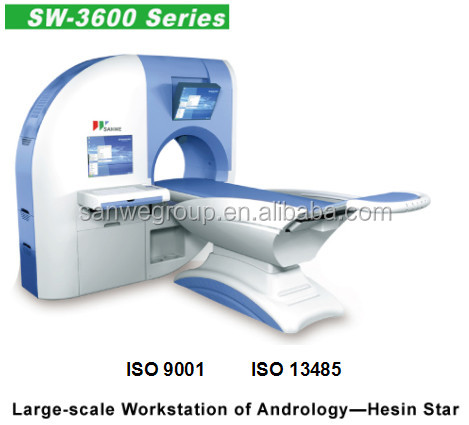 Large-scale work-station of andrology, male sexual dysfunction therapeutic and diagnostic