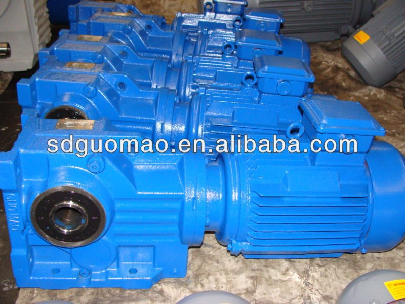 K Series Cement Mixer Drived Helical Bevel Gear Reducer