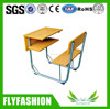 High Quality Combo Wooden School Desk And Chair
