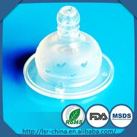 Factory OEM liquid silicone rubber baby pacifier,silicon rubber nipples,baby pacifier chain clip