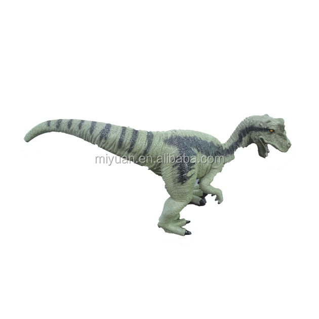 Alibaba hot selling Rubber Latex T-Rex Dinosaur Hand Puppet Toy simulation soft rubber big walking dinosaur toys model