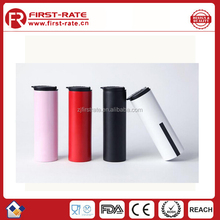 Newest double wall Mighty Mug sunction Travel Mug that won't fall over plastic bottle