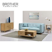 Living Room Furniture Haining Brother Fabric Sectional Sofa Set