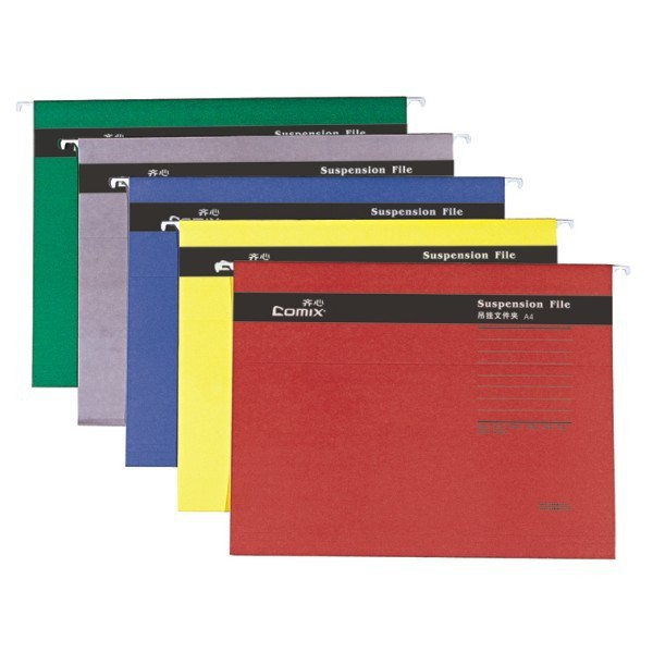 High Quality office supplies material paper 100% recyclable A4 Suspension File index tabs