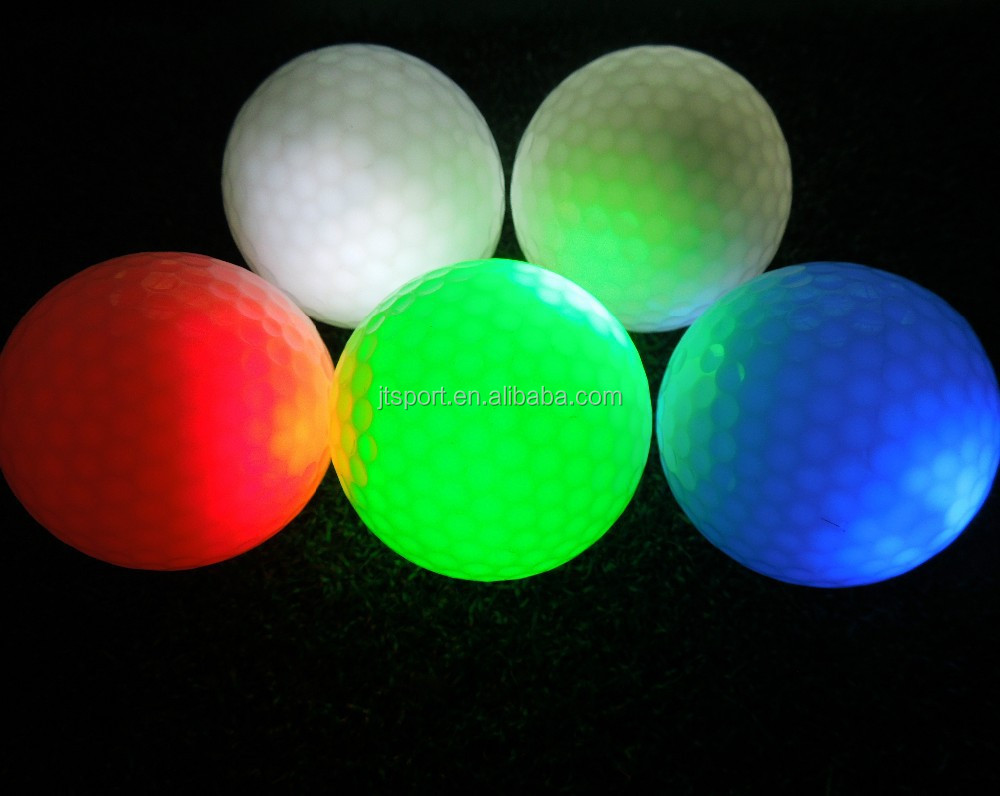 Great Quality Fashion Sky Flyer LED Colored Golf Balls