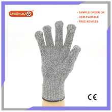 SHINEHOO Anti Cut Puncture Resistant Assembling Industrial Hand Work Gloves