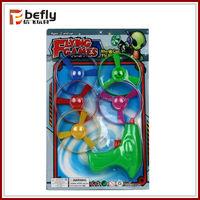 Frisbee gun kids plastic classic wind up toy