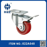 Hotel trolley steel medium duty wheels castor