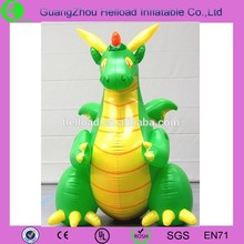 Factory direct sell green inflatable dragon for sale