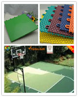 PP sports floors make of good material, own design PP courts