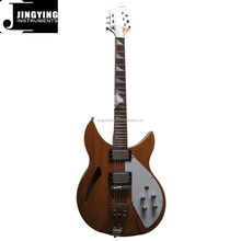 Wholesale Factory Direct Sale Professional Best Selling Custom 360 Type 6 Strings Silver Parts Electric Guitars