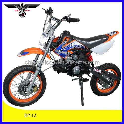 110cc dirt bike 125cc dirt bike kick start 4 stroke off road sports (D7-12)