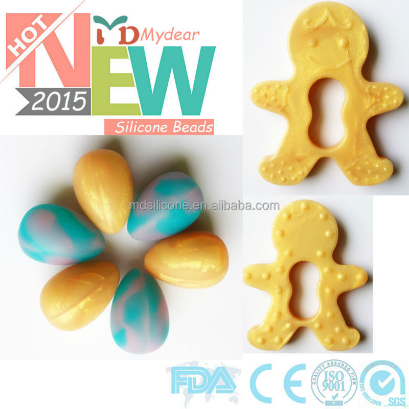 New design BPA free food grade silicone baby teeth of choice for biscuits