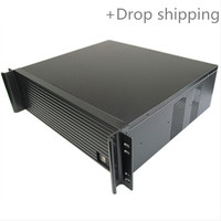 Computer case 3u380mm ultra-short industrial computer server case quality aluminum panel 19 for drop shipping and warehousing