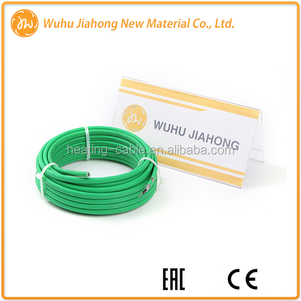 easy to control Anti-Freeze Star Self-Regulating Heating Cable For Water Pipe Heating