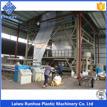 ldpe greenhouse film blowing extruder machine