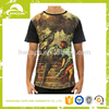 Oil painting wholesale over-sized t-shirt custom men t-shirt