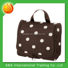 New and exclusive dots hanging travel toiletry Bag
