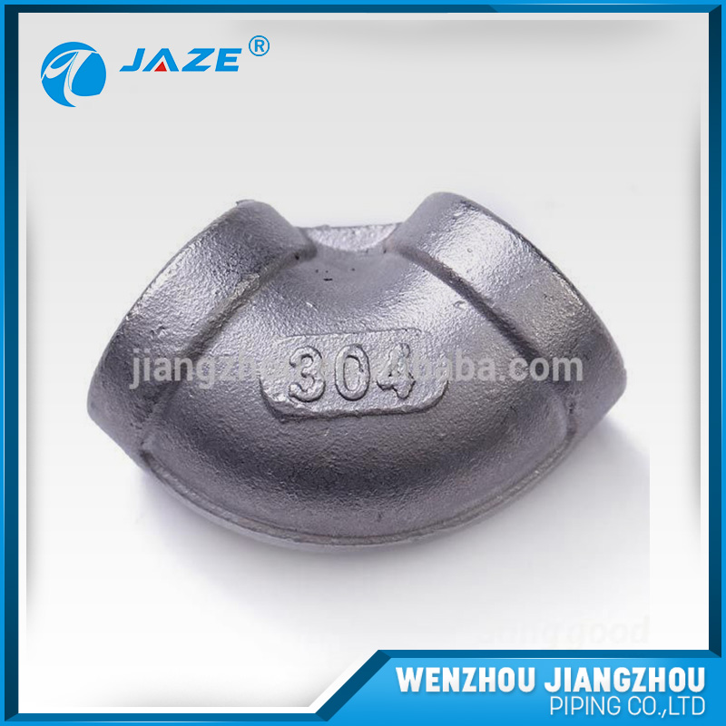 High Pressure Forging stainless steel 90 degree Female thread elbow