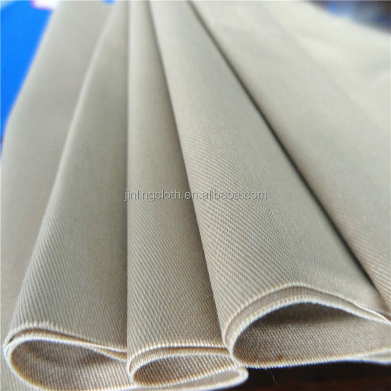 98% Cotton 2% Spandex 3/1 Twill Fabric 20X16+70D 96X56