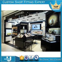 bespoke good quality global wooden cosmetic store interior design