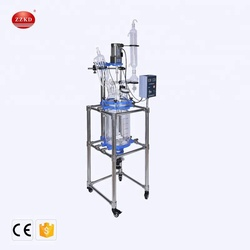 Fluidized Bed Explosion Proof Jacketed Glass Reactor