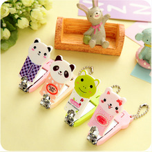 Hot sale cute cartoon nail tools stainless steel nail clipper