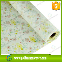 Eco-friendly PP printing spunbond nonwoven fabric/Factory hot sale print Non woven fabric different kinds of fabric With picture