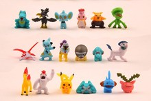 Free shipping wholesale 1440pcs 2-3cm Pokemon ornaments 10sets small doll Christmas toy mini figure for boys