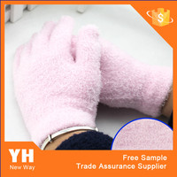 Wholesale Bathroom Accessories Colourful Nylon Gloves Spa Glove