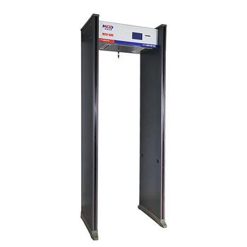 Indoor Electronic Factory Used Walkthrough Metal Detector Gate for Airports MCD-600