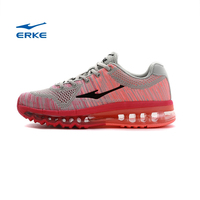 ERKE 2015 New womens summer flyknit running shoes full air cushion fashionb colorful sports shoes for girls couple style