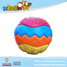 HOT!!Shape changing ball toy children educational toys building blocks plastic toy ball