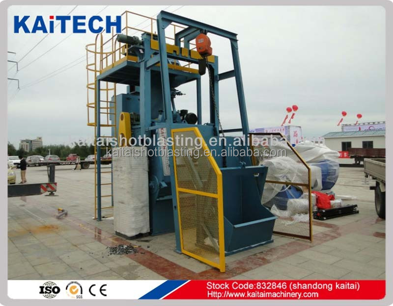 World Brand KAITA:Q3210automatic sandblasting machine with CE STD