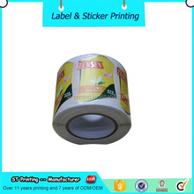 roll waterproof peel off labels ,transparent shampoo and conditioner