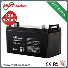 MUST Lead Acid Radial Grid Design AGM Battery 12V 200A OEM