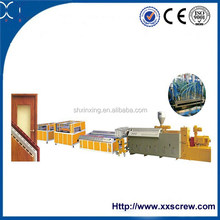 wpc door frame extrusion production line