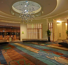 5 star hotel wall to wall high-end carpet exhibition carpet