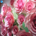 Hot selling Giant paper flowers wall wedding flowers