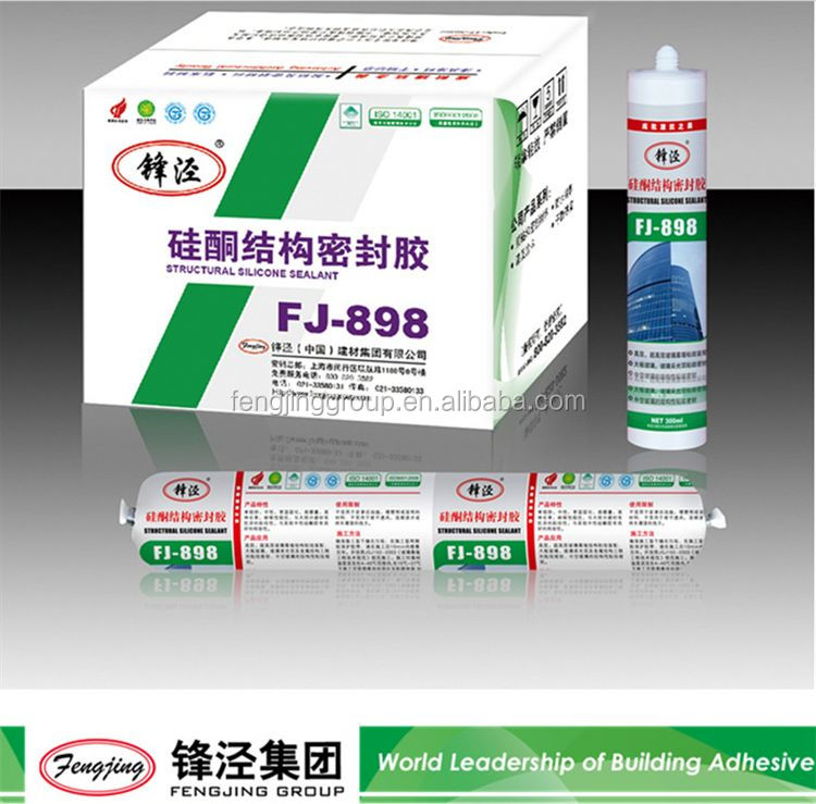 General purpose transparent one-part acetic silicone sealant manufacturer sale