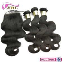 Human Hair Extension Weft, Virgin Peruvian Hair Full Cuticle Super Wave